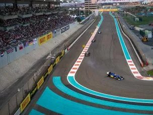 Abu Dhabi Grand Prix West Grand Stand View