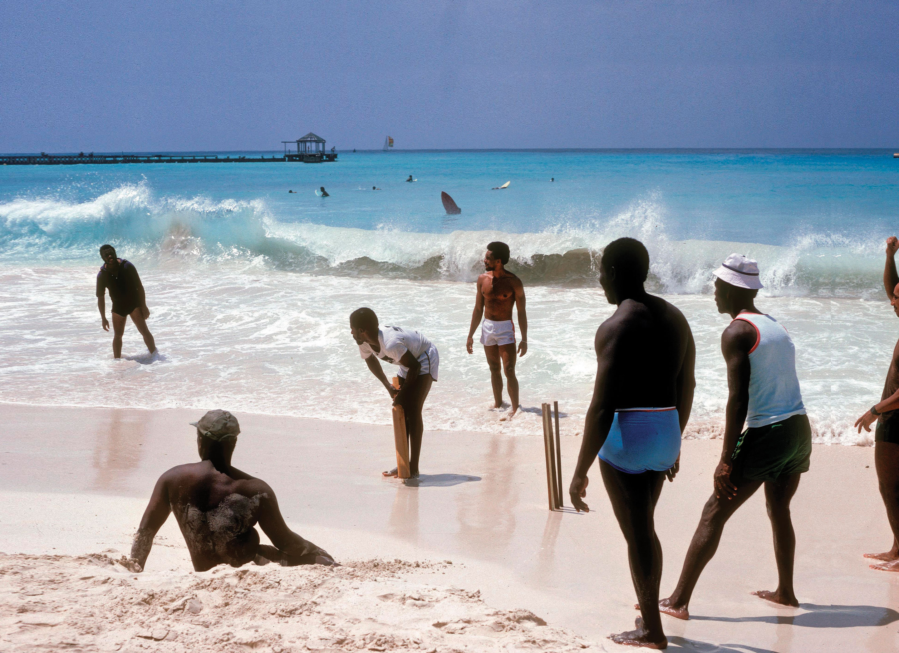Barbados_beach_cricket