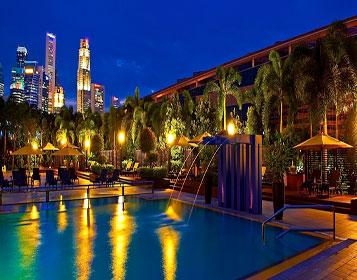 Marina mandarin pool the sporting traveller for Pool garden marina mandarin